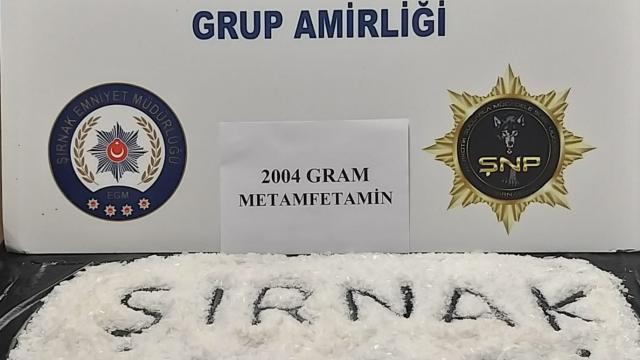Şırnakta uyuşturucu ve kaçakçılık operasyonları: 3 tutuklama