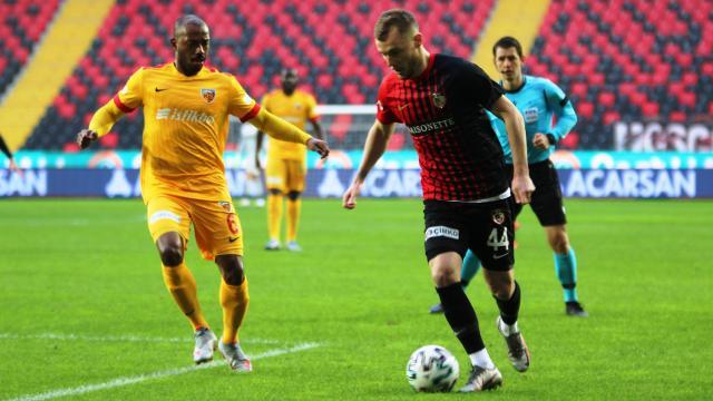 Gaziantep FK Kayserispor'u ağırlıyor