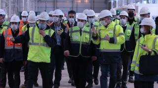 """Sanayi ve Teknoloji Bakanı Varank Çukurova'daki """"dev"""" yatırımlarda incelemelerde bulundu"""