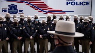 Biden'ın yemin töreni öncesi Washington'daki güvenlik önlemleri en üst seviyede
