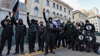 Trump yanlısı silahlı grupların gösterisi olaysız tamamlandı