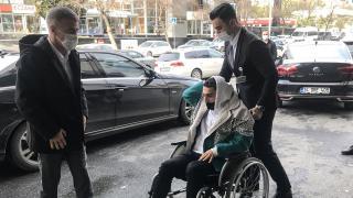 Abdülkadir Ömür ameliyat için İstanbul'da