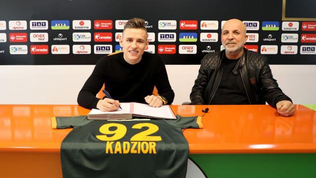 Alanyaspor Damian Kadzioru kiraladı