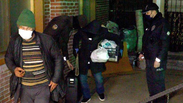 Ankaradaki evsizler otellere yerleştirildi