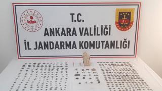 Ankara'da tarihi eser operasyonu: 2 gözaltı