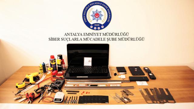 Antalyada, ATM dolandırıcılığı yapan şüpheli tutuklandı