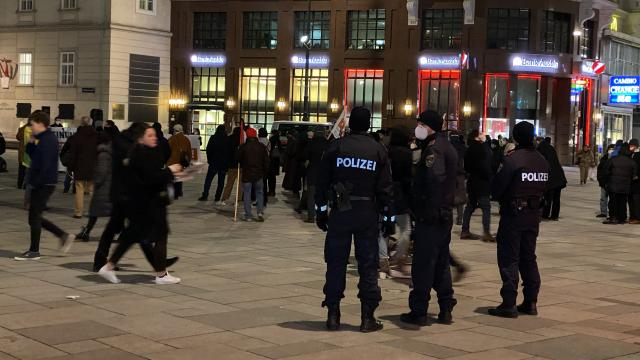 Avusturyada terörle mücadele yasa tasarısı protesto edildi