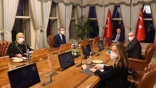 Cumhurbaşkanı Erdoğan, Tayfun Öktem'i kabul etti