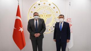 Sağlık Bakanı Koca, Rusya'nın Ankara Büyükelçisi Yerhov ile görüştü