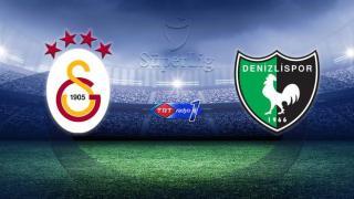 Galatasaray'ın konuğu Denizlispor
