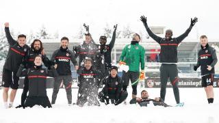 Gaziantep FK'dan 'karlı antrenman'