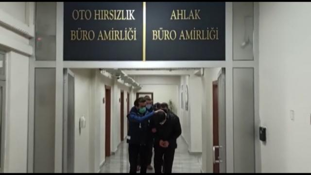 Ankarada lüks otomobil çetesine operasyon