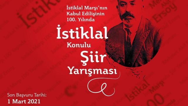 """Balıkesirde """"İstiklal"""" konulu şiir yarışması"""""""