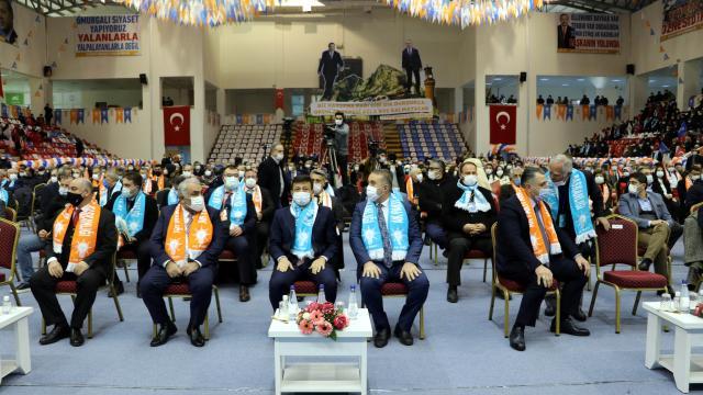 AK Parti Genel Başkan Yardımcısı Hamza Dağ, partisinin Amasya il kongresinde konuştu
