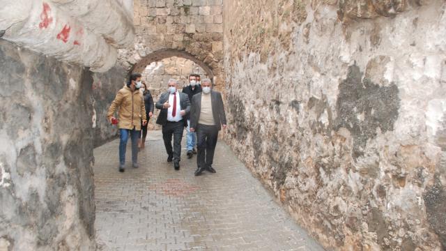 Göreme Belediye Başkanı Ömer Eren, Başkan Şahini ziyaret etti