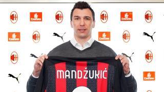Beşiktaş'ın da görüştüğü Mandzukic Milan'a imza attı
