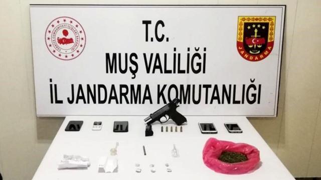 Muşta uyuşturucu operasyonu: 6 şüpheli tutuklandı