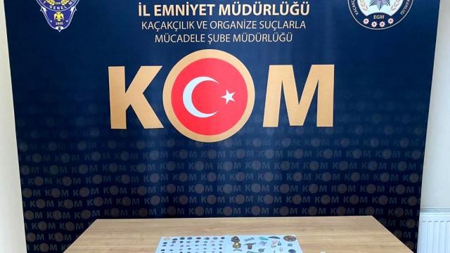 Nevşehirde tarihi eser kaçakçılığı operasyonunda bir kişi yakalandı