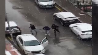Özdağ'a saldırının görüntüleri ortaya çıktı
