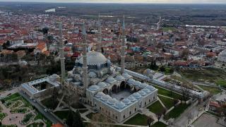 Selimiye Camii salgın sürecinde de ilgi gördü