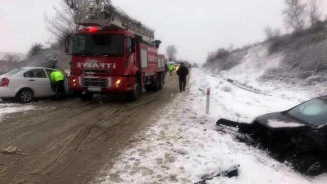 Sinopta trafik kazaları: 6 yaralı