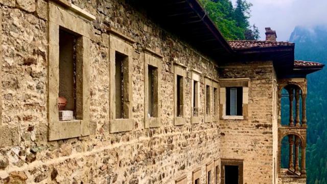 Sümela Manastırını açık olduğu 99 günde 123 bin 933 kişi ziyaret etti