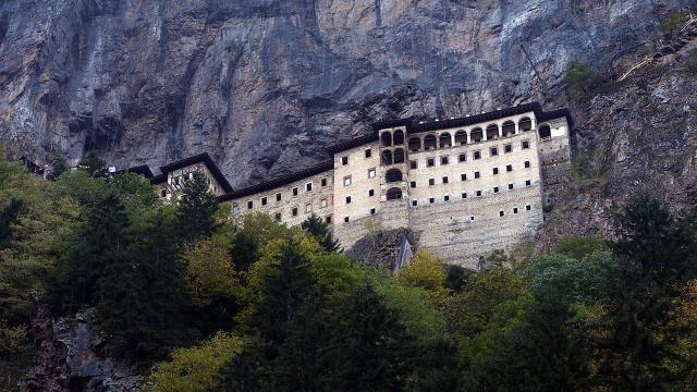 Sümela Manastırını 3 ayda yaklaşık 124 bin kişi ziyaret etti