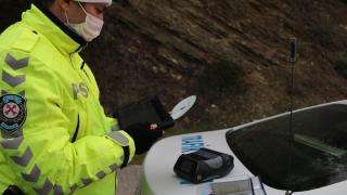 Yük taşıyan araçlar denetlendi: 5 bin 163 kural ihlali tespit edildi