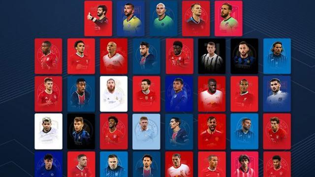 UEFAnın yılın 11i açıklandı