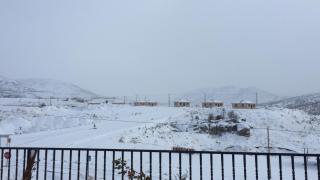 Adıyaman'da kar yağışı nedeniyle 207 köy yolu ulaşıma kapandı