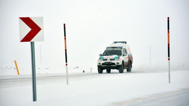 Sarıkamışta kar yağışı