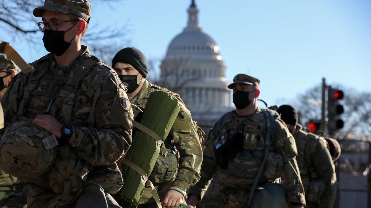 Washington'da güvenlik önlemleri en üst seviyede