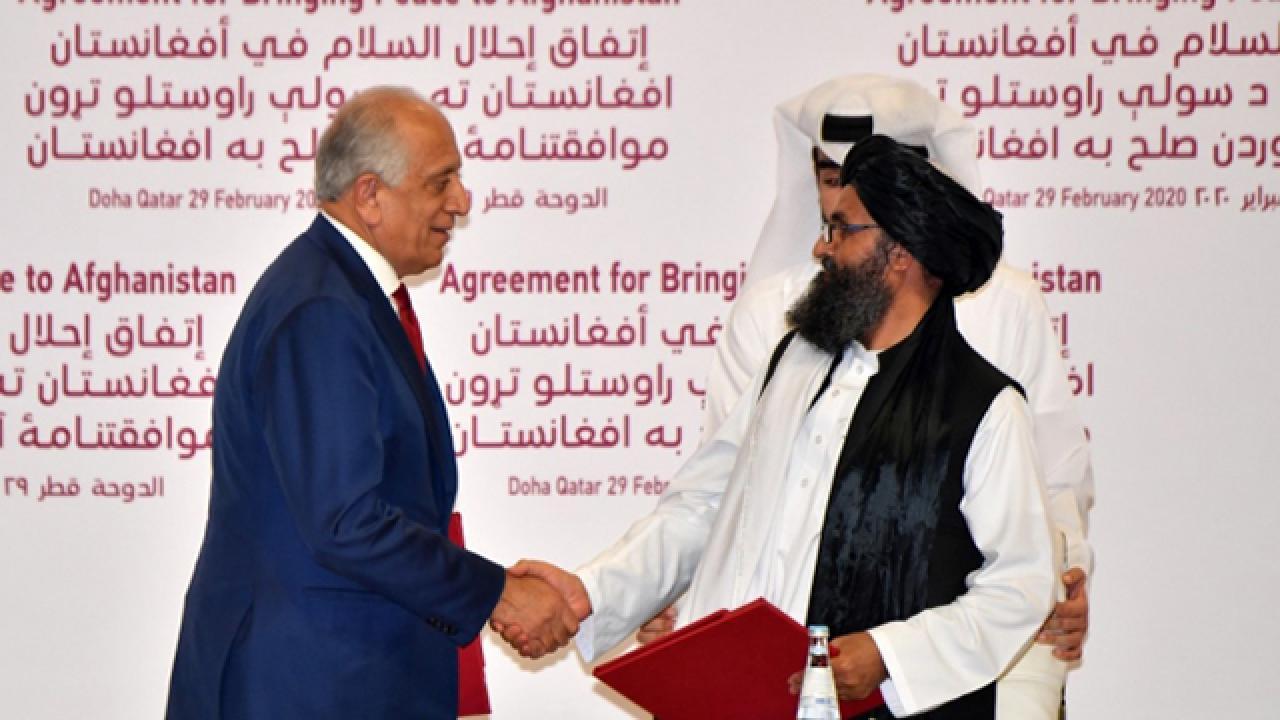Biden yönetimi, ABD-Taliban barış anlaşmasını gözden geçirecek