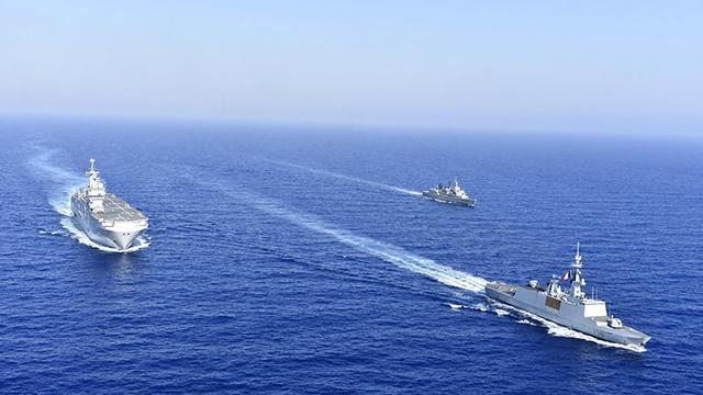 Tunus ve ABDden Akdenizde ortak tatbikat