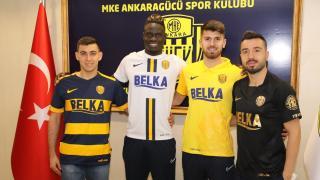 MKE Ankaragücü 4 futbolcuyu transfer etti