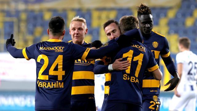 MKE Ankaragücüne tek gol yetti