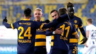 MKE Ankaragücü'ne tek gol yetti