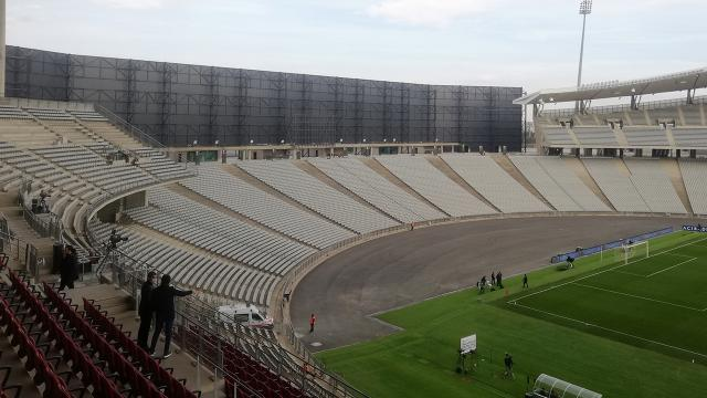 Atatürk Olimpiyat Stadında rüzgar önlemi