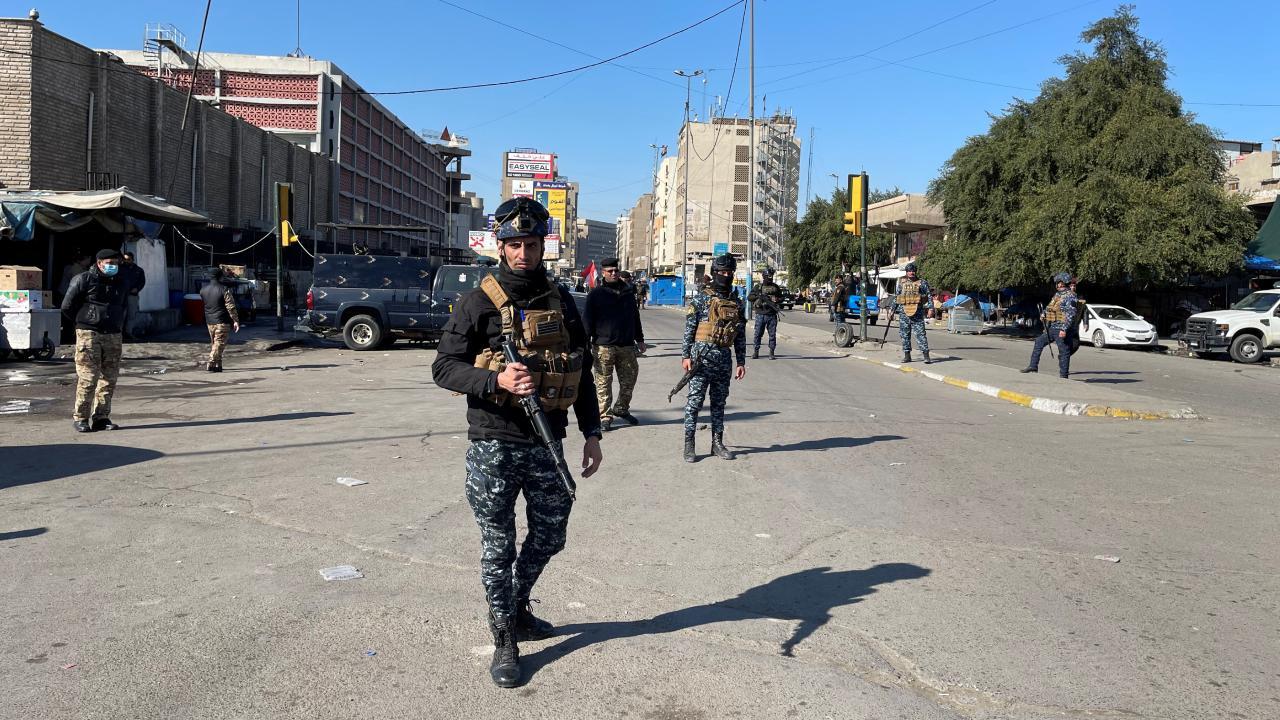 Bağdat'ta intihar saldırısı: 7 ölü