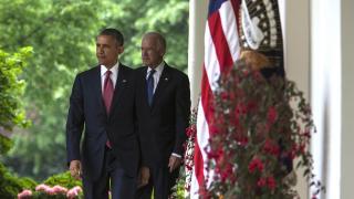 Biden 'Obama'nın yolunda'