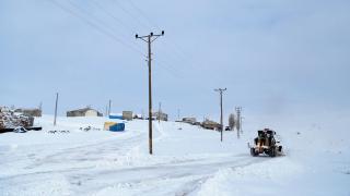 Doğu Anadolu'da karla mücadele ekipleri yoğun mesai yapıyor