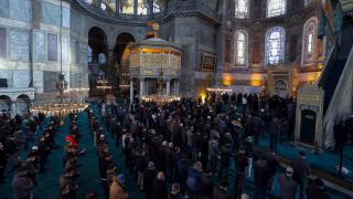 Dündar Osmanoğlu için Ayasofya Camii'nde gıyabi cenaze namazı