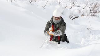 Elektrik ekiplerinin zorlu kış mesaisi
