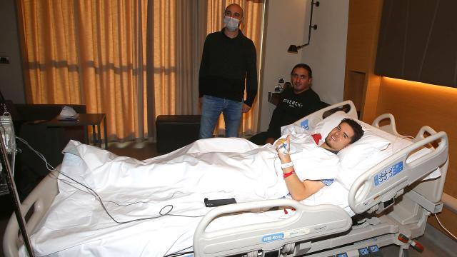 Ferdi Kadıoğluna implant çıkarma operasyonu