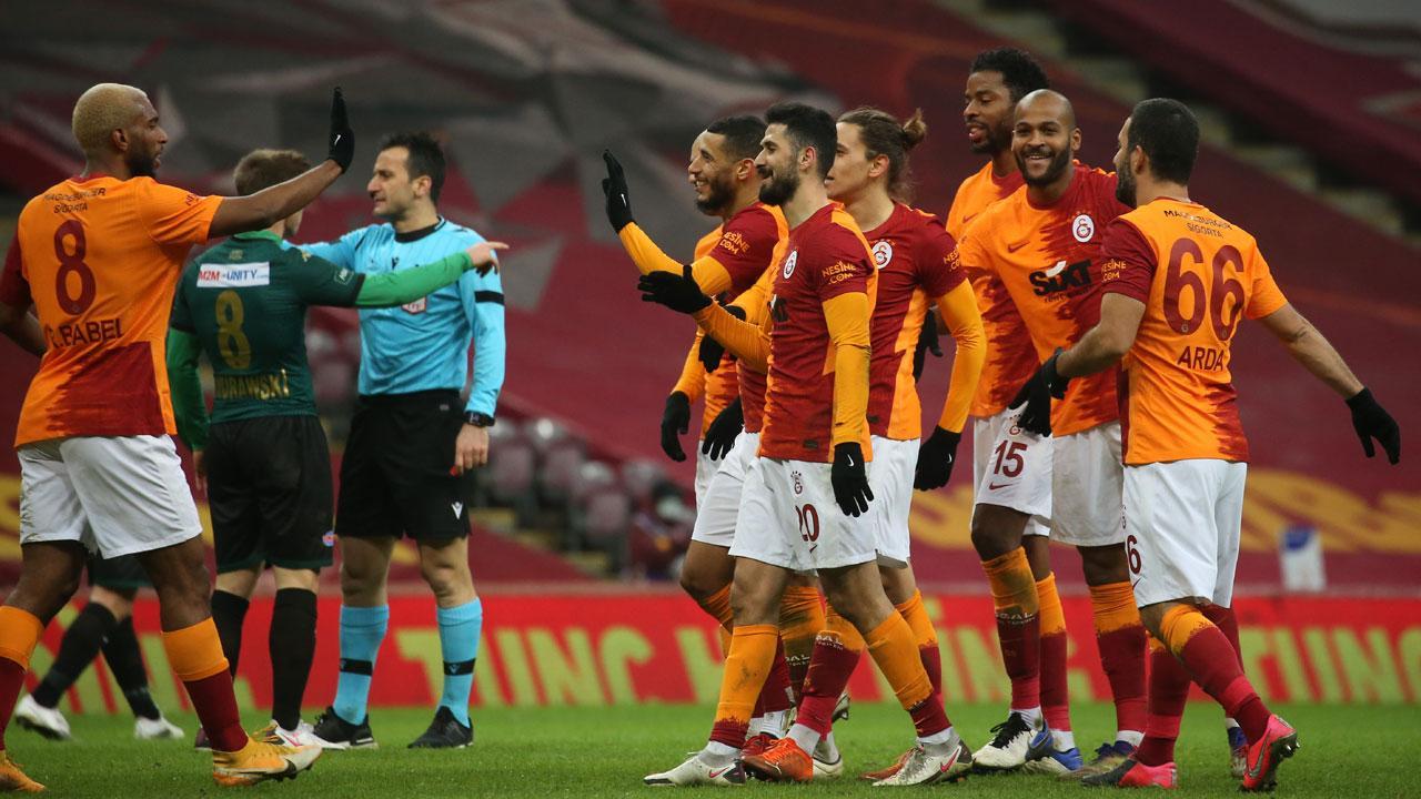 Galatasaray'ın 500. gol Sekidika'dan