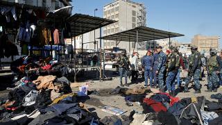 Bağdat'taki saldırı sonrası üst düzey isimler görevden alındı