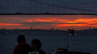 İstanbul'da gün batımı