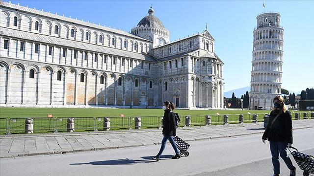 İtalyada son 24 saatte 524 can kaybı