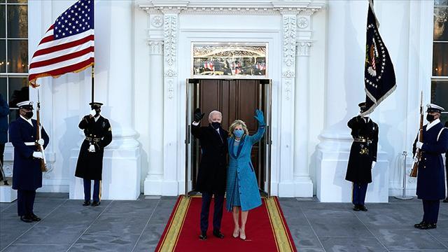 ABD Başkanı Biden Beyaz Sarayda