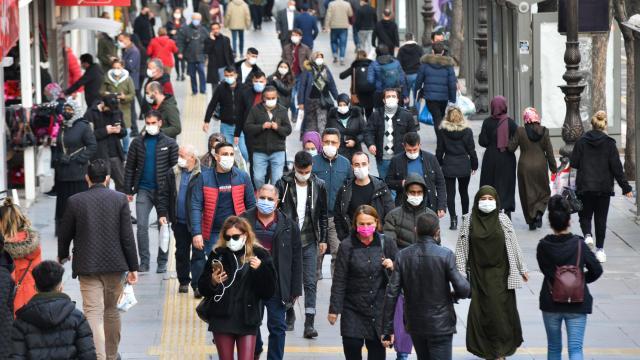 İl il koronavirüs haftalık vaka haritası açıklandı... Türkiye geneli yeni koronavirüs vaka haritası...